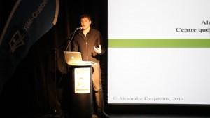 Conférencier Alexandre Desjardins, Avocat du Centre québécois du droit de l'environnement (CQDE)