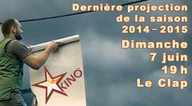 Projection Kinö01 – Juin 2015