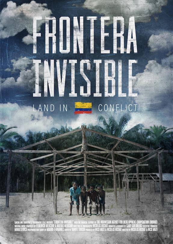 Affiche Frontera Invisible