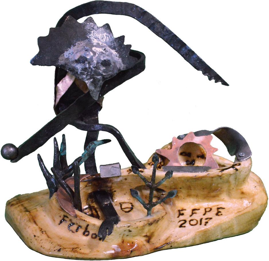 Sculpture Ferboi - Grand prix du FFPE